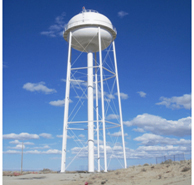 drinking water  storage tank was constructed for a Hopi Tribe in 2009