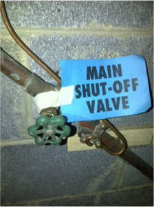Main Shut-Off Valve